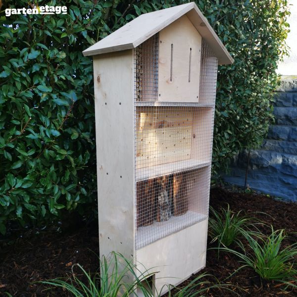 Insekten- und Igelhotel Multiplex