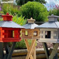 Vogelhaus Nordic mit Futtersilo