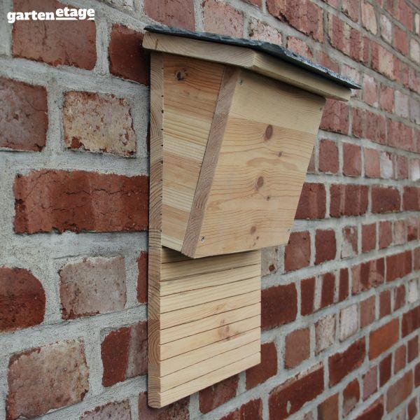 Fledermauskasten gedämmt als Winterquartier