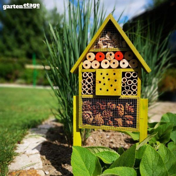 Selbststehendes Insektenhotel Flip XS