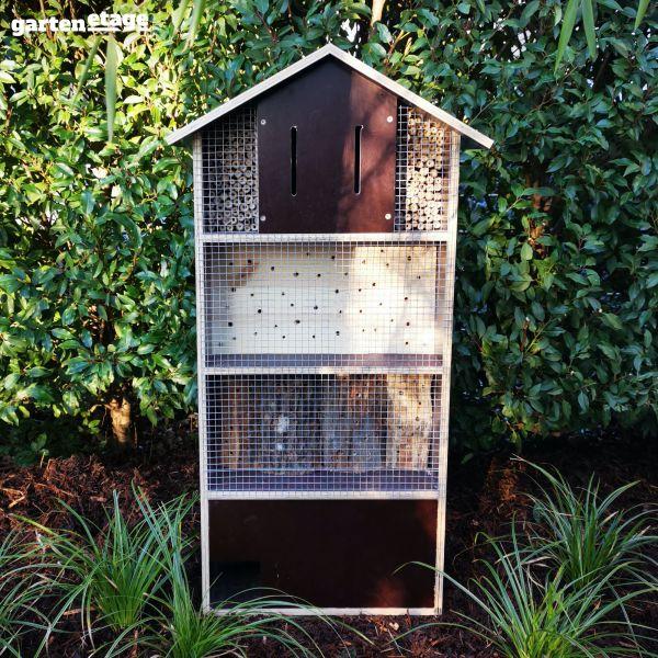 Insekten- und Igelhotel Siebdruck